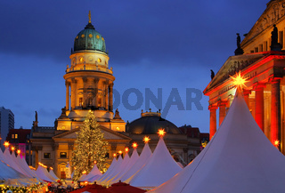 Berlin Weihnachtsmarkt Gendarmenmarkt - Berlin christmas market Gendarmenmarkt 19