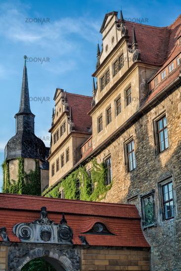 Merseburg, Germany - 06/18/2019 - Detail from Merseburg Cathedral