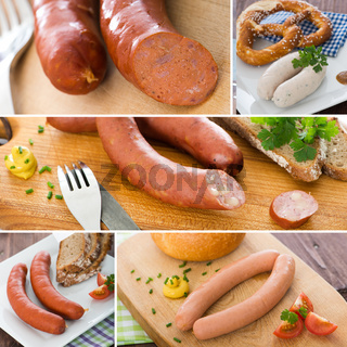 Wurst - Collage