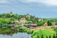 Landscape Park in Buki village, Ukraine