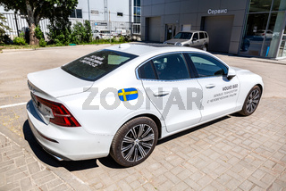 Volvo S60 near the office of official dealer