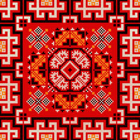 Romanian traditional pattern 173