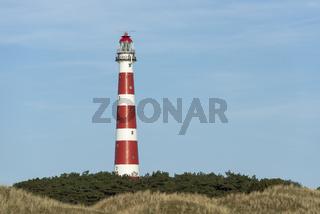 Lighthouse of the island of Ameland
