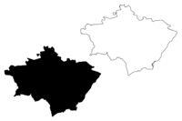 Gulbene Municipality (Republic of Latvia, Administrative divisions of Latvia, Municipalities and their territorial units) map vector illustration, scribble sketch Gulbene map