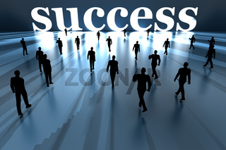 Walking towards Success