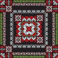 Romanian traditional pattern 196