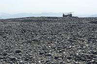 Extremely arid stone desert, Danakil depression, Afar Triangle, Ethiopia
