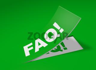 3D Etikett Grün - FAQ