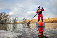 stand up paddling winter training