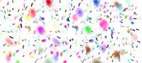 konfetti ticker tapes party bunt
