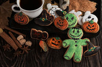 Ginger biscuits for Halloween