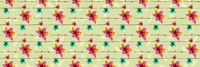 Floral seamless pattern with blooming flowers. Watercolor effect imitation, aquarelle paints.