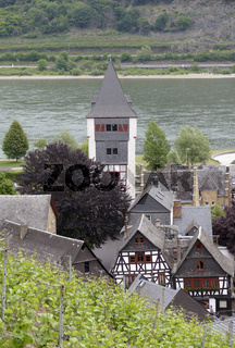 aerial view of Bacharach