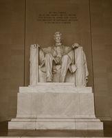 The Lincoln Memoria in Washington DC