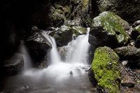 Watercourse in the Raudfeldargja Gorge, Snæfellsnes, Iceland, Europe
