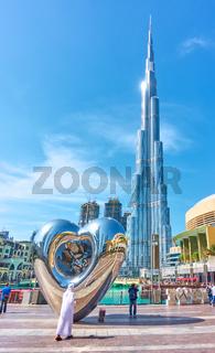 Dubai Steel Heart