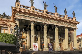 The Juárez de Guanajuato Theater is a historic theater built from 1872 to 1903.