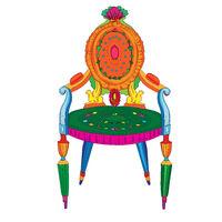 Postmodern Adam classical chair