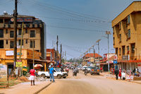 On the streets of Uganda