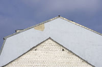 Roof and former roof, triangel