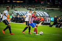 Football at the MCG in Melbourne Australia