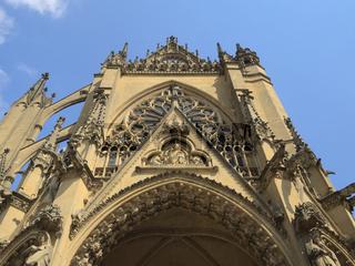 Metz - Kathedrale Saint-Étienne, Frankreich