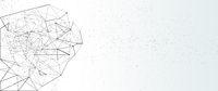 net, network, plexus background abstract concept gradient