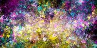 Alien Abstract Vortex Background Texture