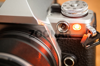 Auto focus illuminator or self-timer light
