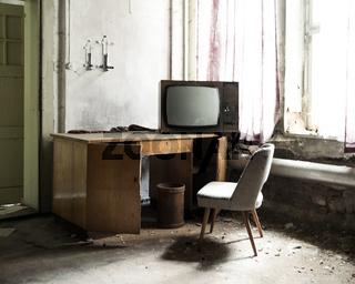 Fernseher aus alten Tagen
