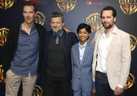 Matthew Rhy, Benedict Cumberbatch, Rohan Chand and Andy Serkis