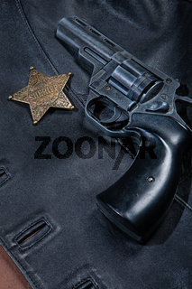 Gun And Star