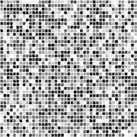 Square seamless black and white colored