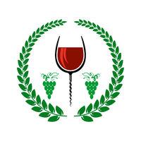 Retro Wood Corkscrew Icon for Opening Wine Bottle Isolated on White Background