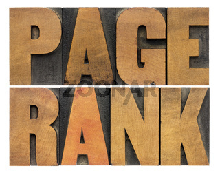 page rank word abstract