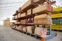 Wood and wood-based materials industry wooden planks