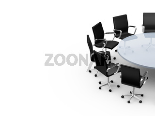 Conference Table with Copy Space