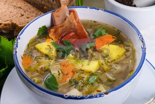 cabbage stew with meat