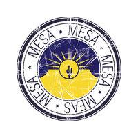 City of Mesa, Arizona vector stamp
