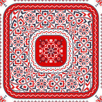 Romanian traditional pattern