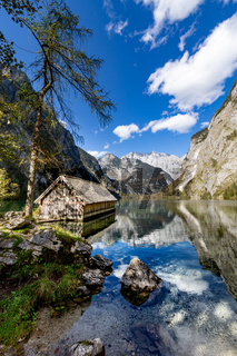 Bootshaus am Obersee