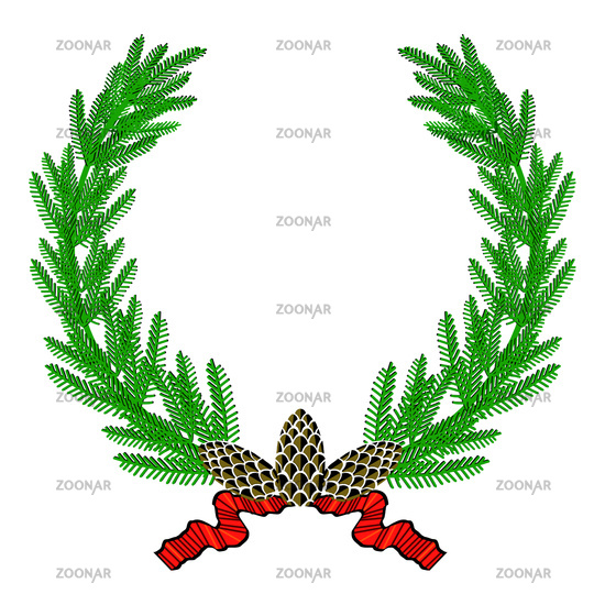 fir wreath