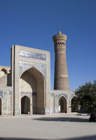 complex Poi Kolon, Miri Arab Madrassah in Bukharat, Uzbekistan