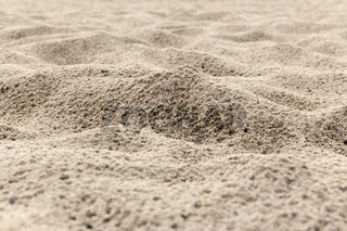 Sand background texture after rain
