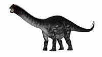 Apatosaurus dinosaurwalking - 3D render