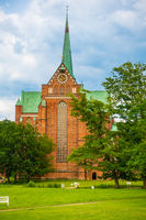 The Doberan Cathedral, Bad Doberan, Summer 2020, Mecklenburg-Western Pomerania, Germany