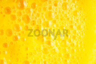 Diet healthy nutrition. Fresh yellow fruits juice background texture