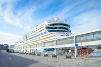 luxury cruise ship Madeira port