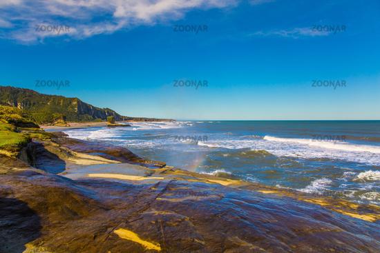 The coast of the South Island