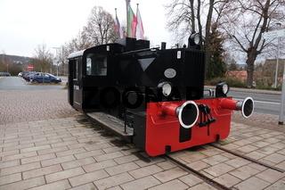 Rangierlokomotive in Erbach